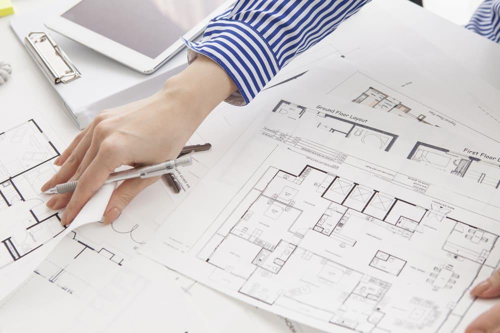 マンションの平面図とは?具体例と記号の読み方・図面の見方を解説