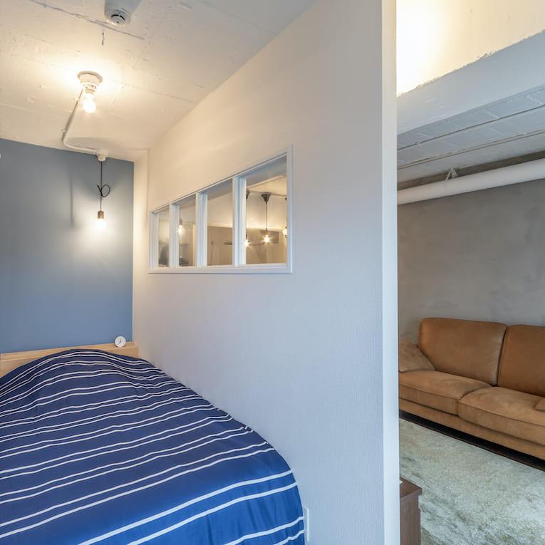 旗の台の中古マンションのリノベーション後のベッドルーム