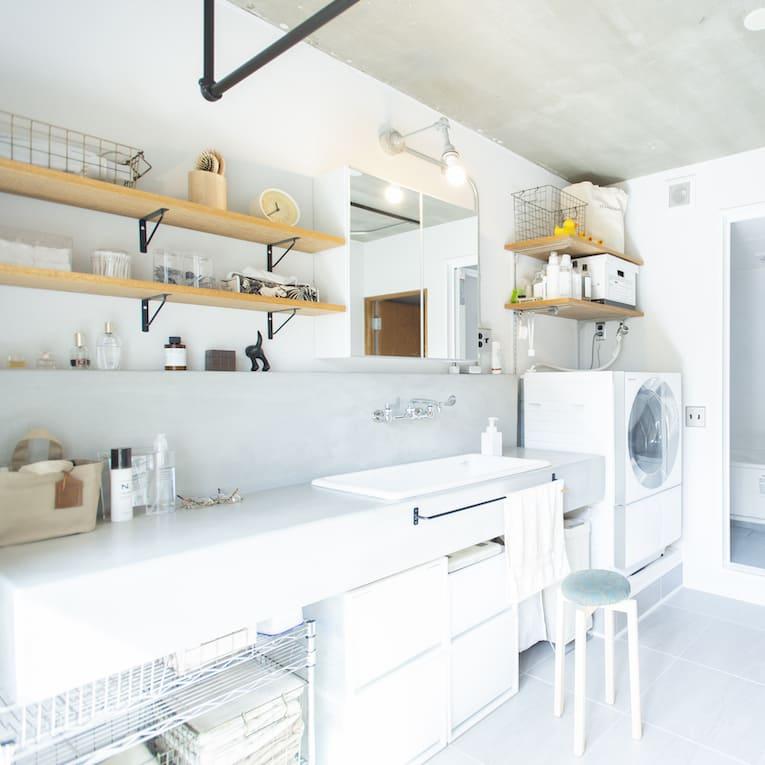 東浦和の中古マンションのリノベーション後の洗面所