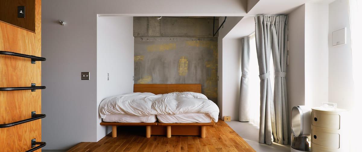 鶴見市場の中古マンションのリノベーション後の寝室