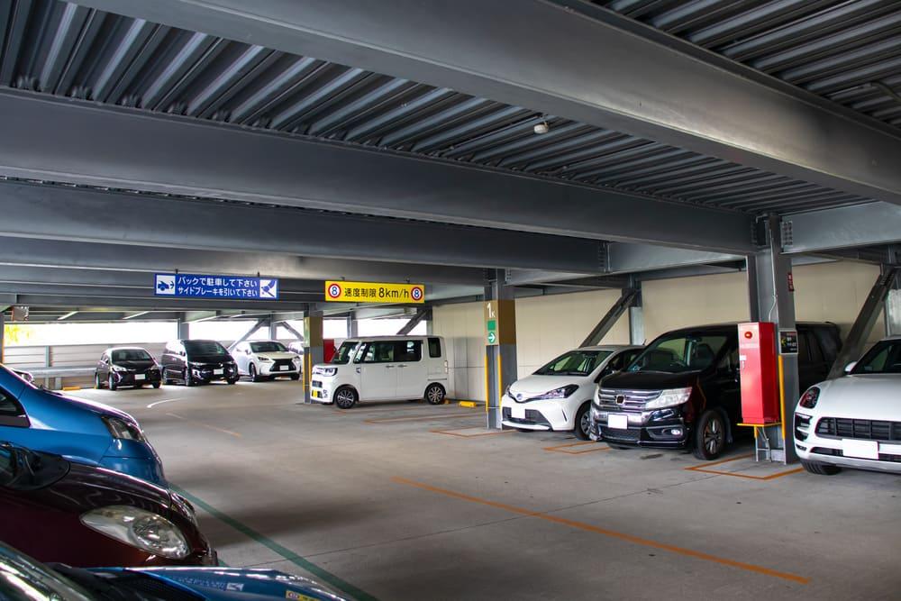 マンション 駐車 場画像