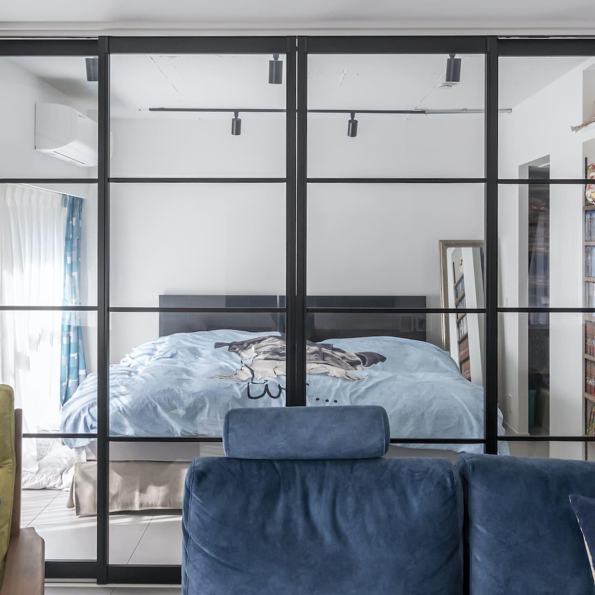 駒込の中古マンションのリノベーション後の寝室