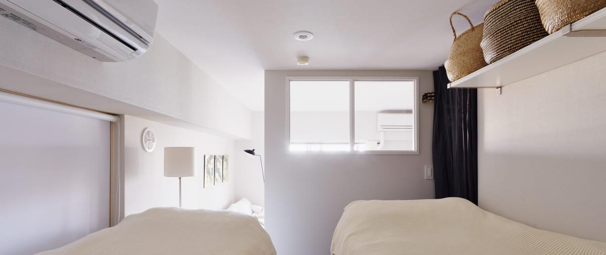 八丁堀の中古マンションのリノベーション後の ベッドルーム