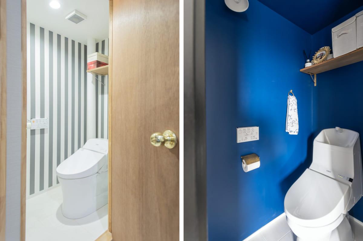 駒込の販売中古マンションのトイレのリノベーションアイデア