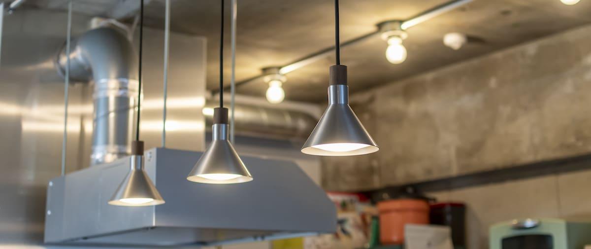 調布の中古マンションのリノベーション後の照明