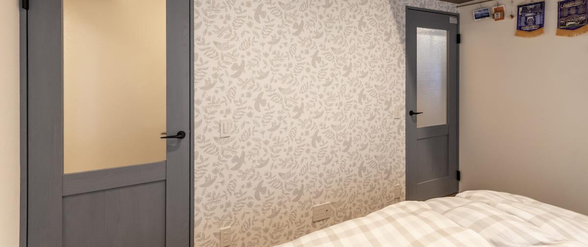 鮫洲の中古マンションのリノベーション後の寝室