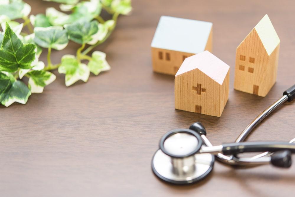 住宅ローンと健康診断
