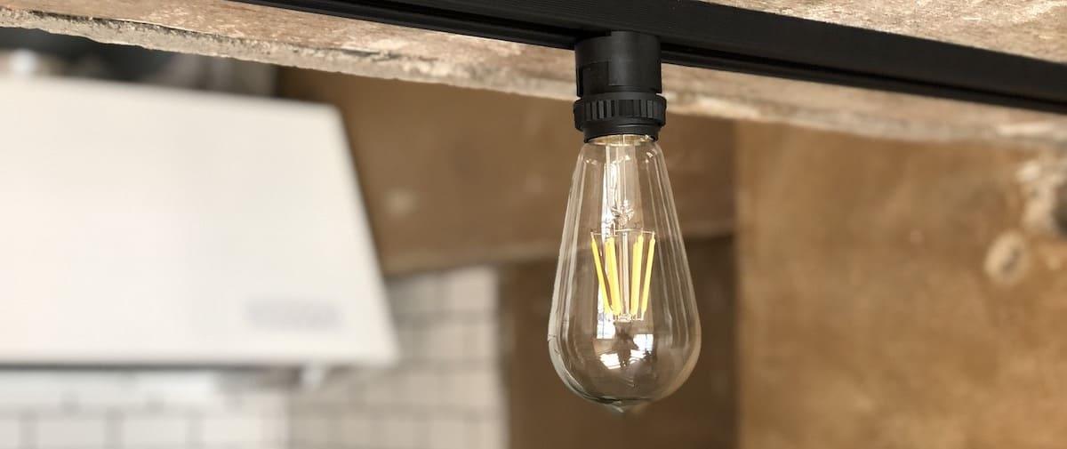 表参道の中古マンションのリノベーション後の照明