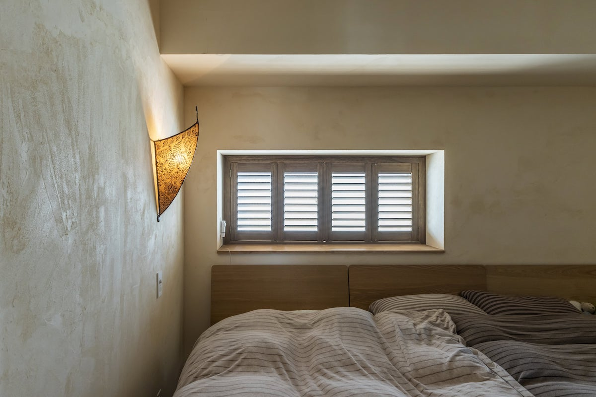 リノベーション事例 寝室 北欧ヴィンテージ