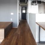鳩ヶ谷の中古マンションのリノベーション後の廊下
