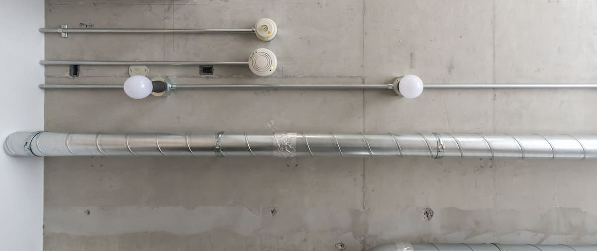 高円寺の中古マンションのリノベーション後の鉄管