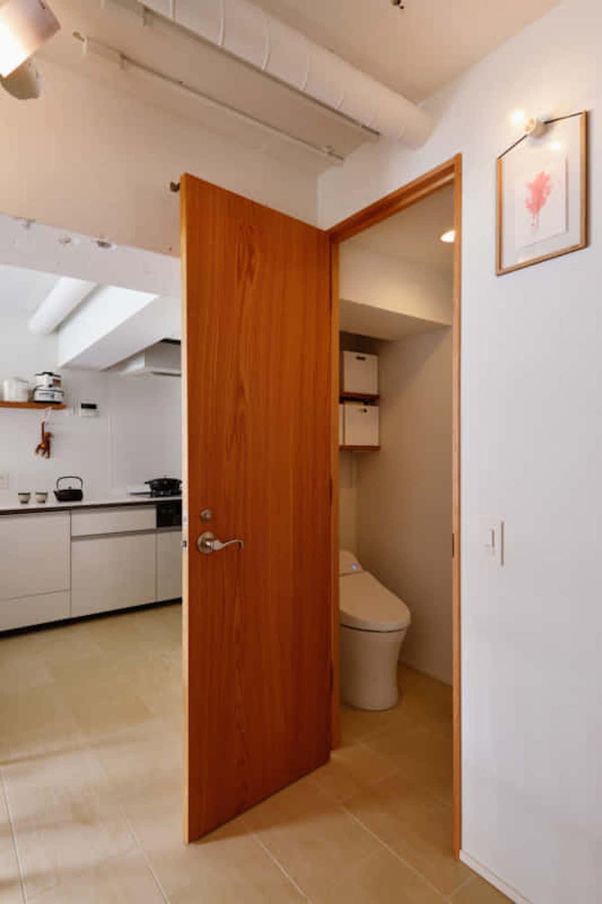 リノベーション トイレ 照明